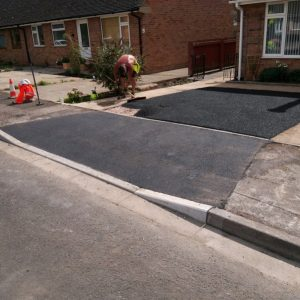 Dropped kerb and driveway in coverntry